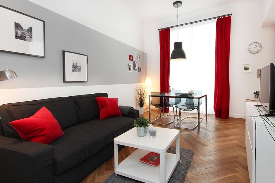 Patricia Rieder Interior Design Wohnraum mit Farbe
